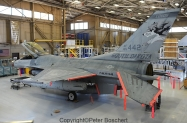 50 F-16C (convert to F-16C) 85-1442 114th FW
