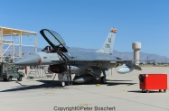 52 F-16A (convert to QF-16A) 83-1095 162nd FW