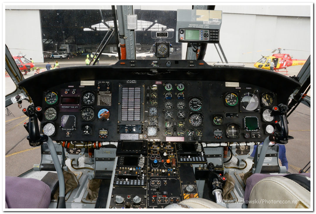 Helitak 341 Flight deck