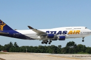 Atlas Air, Boeing 747-446, N464MC, at Pease