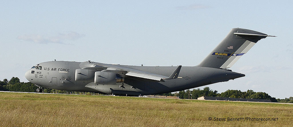 md C-17 Globemaster #44131, at Pease