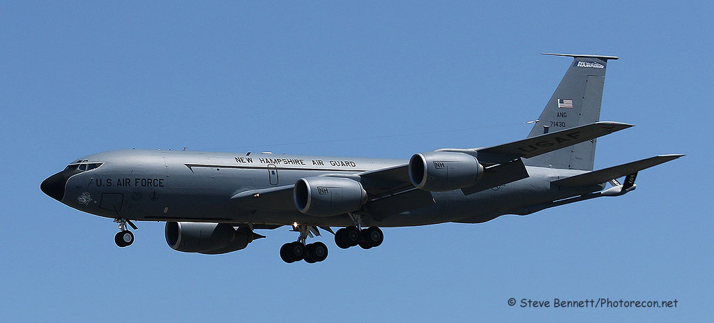 KC-135 Stratotanker #71430, NH Heritage, at Pease