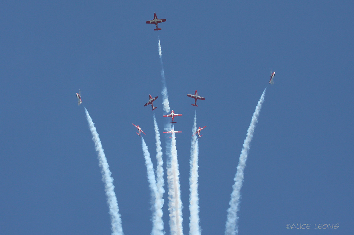 Rhode Island Air Show Snowbirds