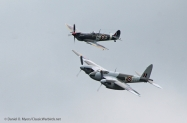 Spitfire and Mossie two