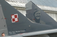Polish Air Force MiG-29 wearing 100th Anniversary PLAF  colors