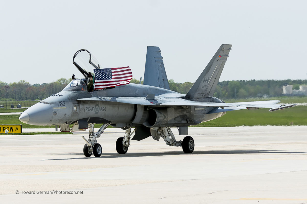 Enhc Canadian F-18C Demo -5927