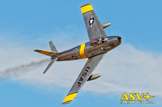 F-86 Sabre French Valley Air Show 2015 FB