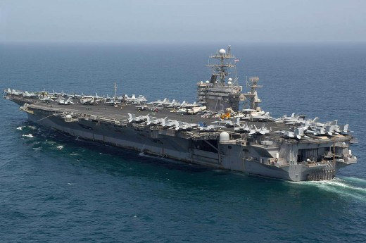 First Picture CVN-75