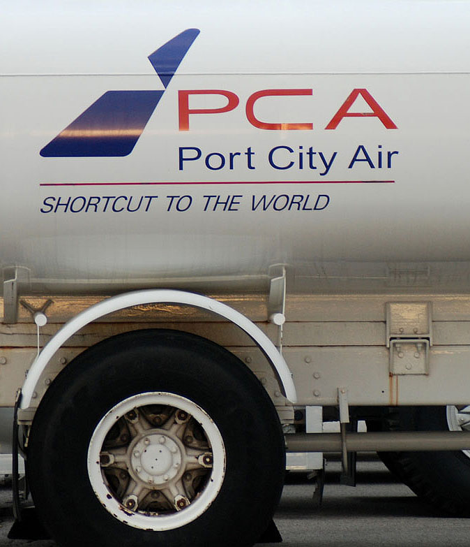 pca truck letters