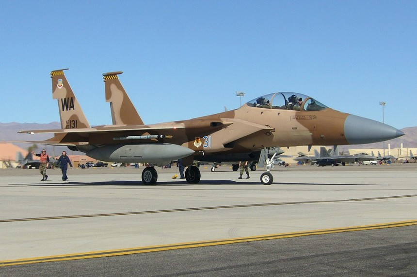 Aggressor Squadron Nellis AFB 64th And 65th AGRS