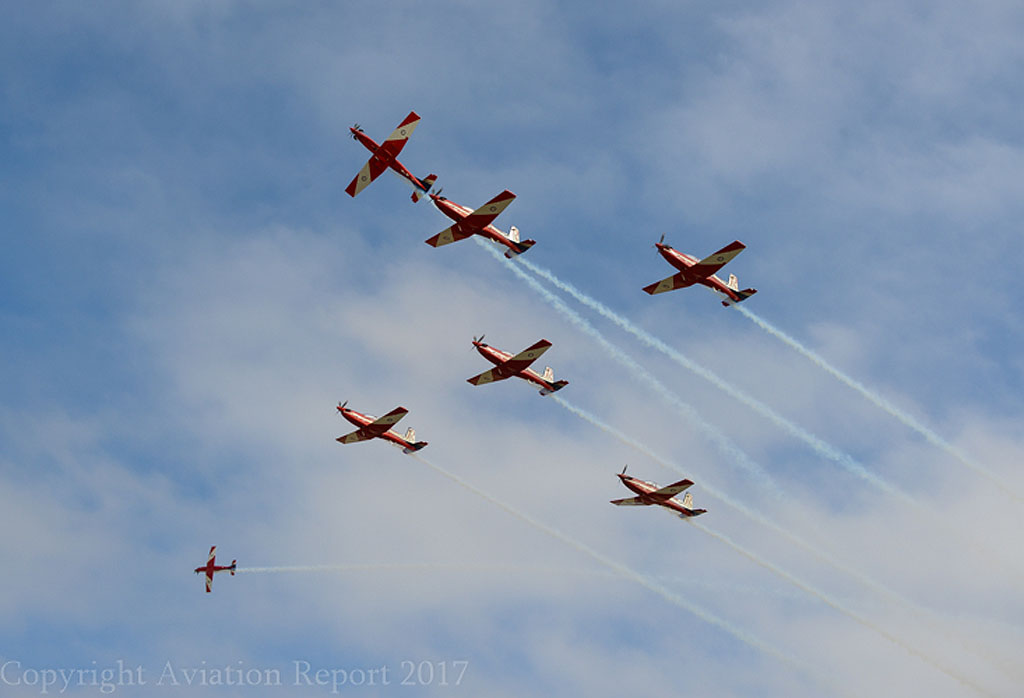 PC-9As (RAAF Roulettes)