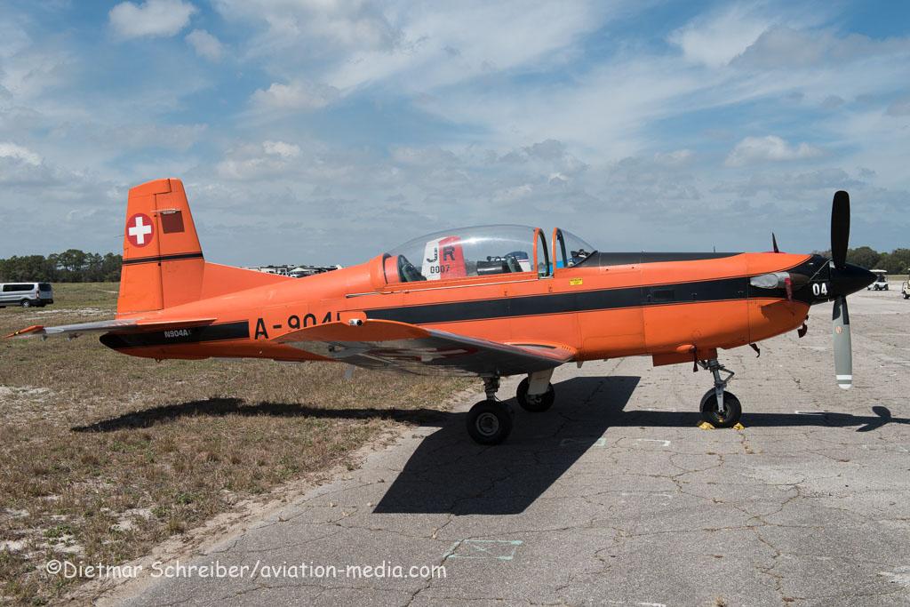 2016-03-11 N904A Pilatus PC7