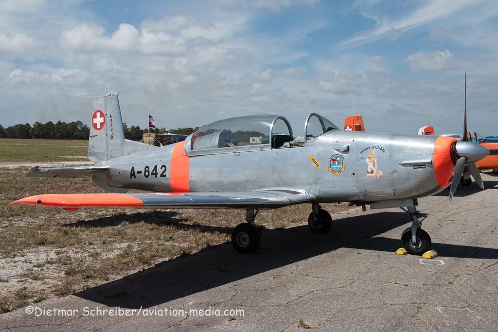 2016-03-11 N842JM Pilatus P3