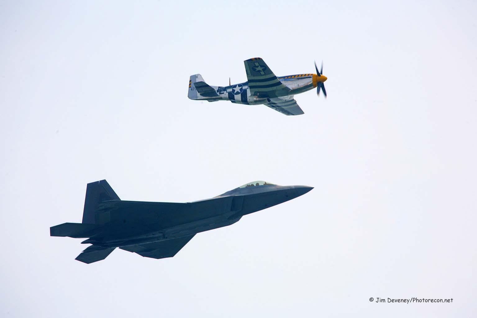 p-51 f-22 heritage flight