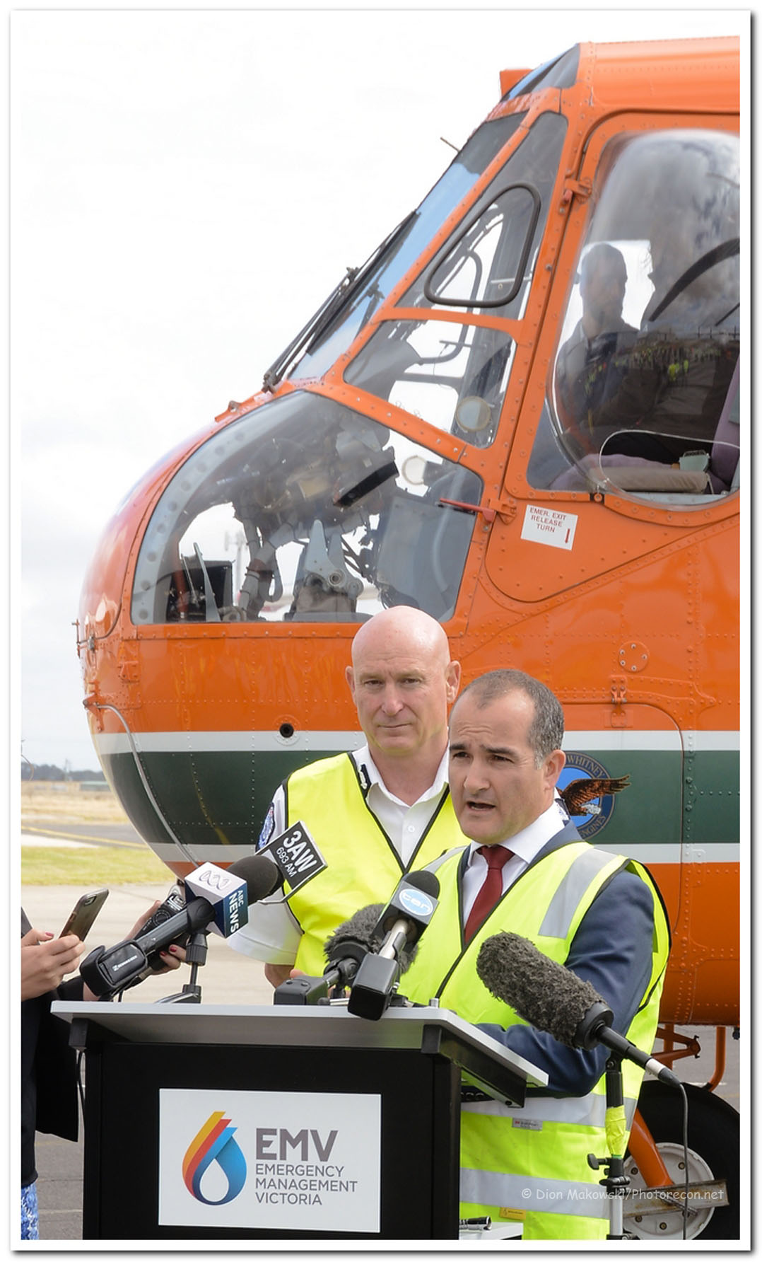 Commissioner Lapsley and Minister Merlino