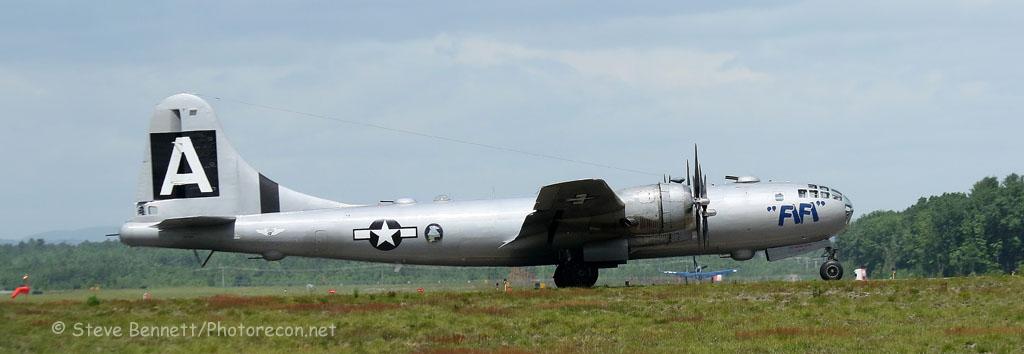 1945 B-29 Superfortress, FIFI, NX529B, in Nashua (7319)