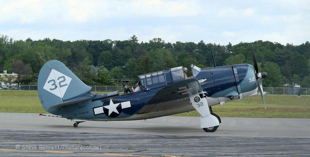 Curtiss SB2C Helldiver, N92879, Nashua (7154.2)