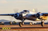 POF B-25 Takeoff