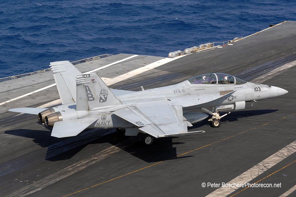 145 FA-18F_166625_VFA-11_AB103_USS Enterprise;CVN-65