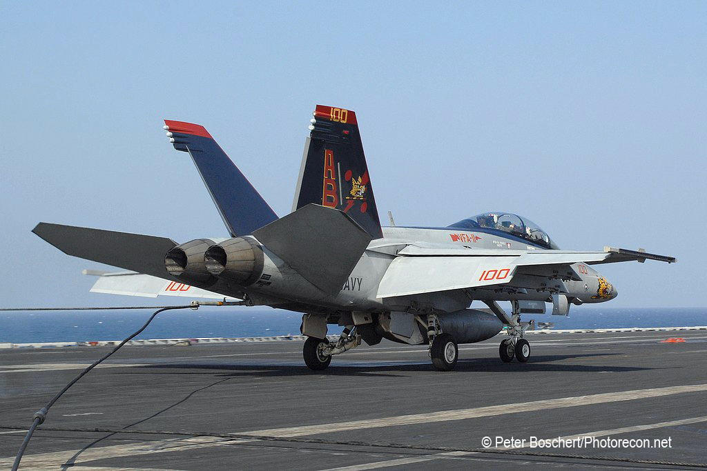 153 FA-18F_166628_VFA-11_AB100_USS Enterprise_CVN-65
