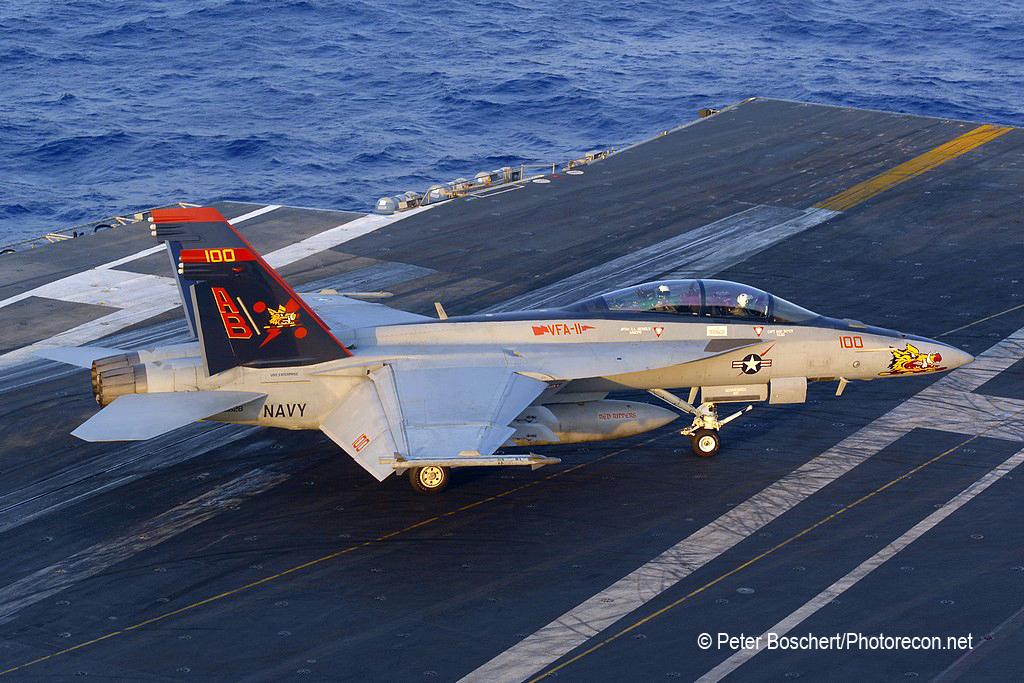 156 FA-18F_166628_VFA-11_AB100_USS Enterprise_CVN-65_4