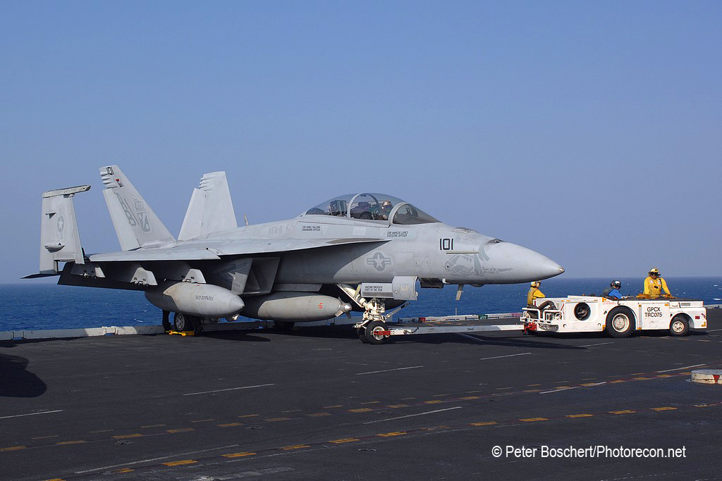 160 FA-18F_166634_VFA-11_AB101_USS Enterprise_CVN-65