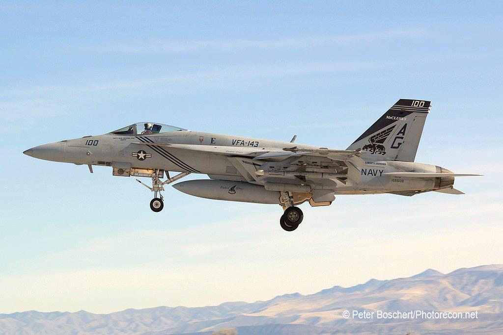 42 FA-18E_166608_VFA-143_AG100_NAS Fallon_2