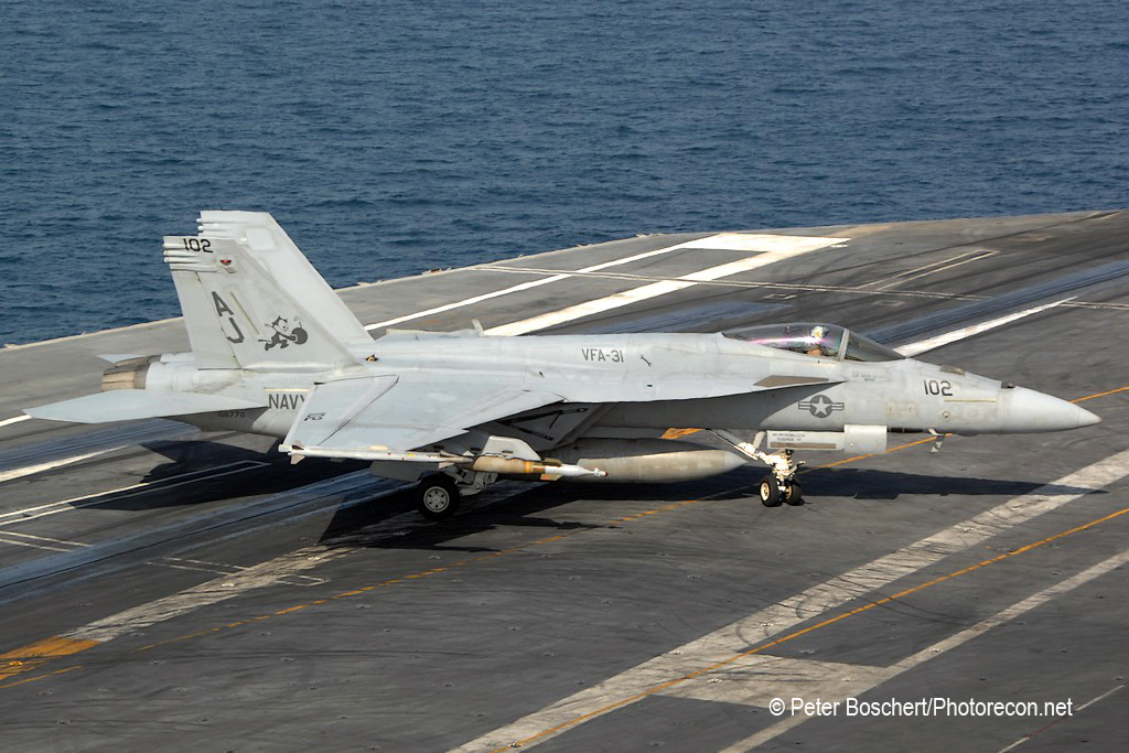 59 FA-18E_166778_VFA-31_AJ102_USS George HW Bush_CVN-77