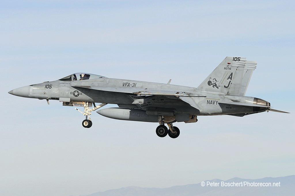 62 FA-18E_166781_VFA-31_AJ105_NAS Fallon