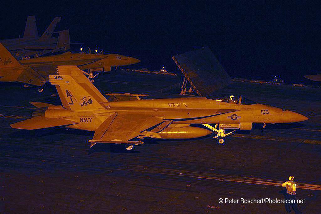 64 FA-18E_166782_VFA-31_AJ105_USS George HW Bush_CVN-77