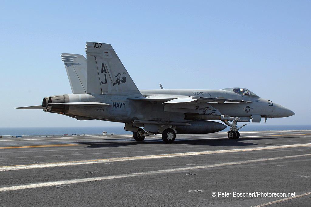 65 FA-18E_166783_VFA_31_AJ107_USS  George Bush_CVN-77