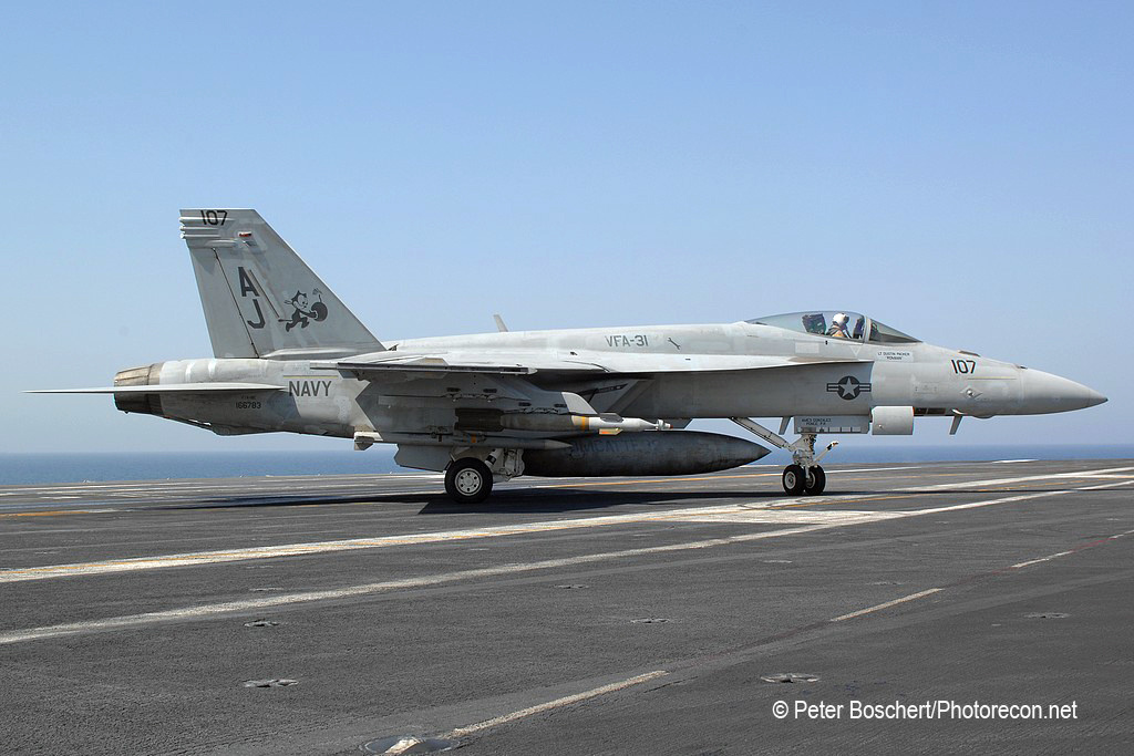66 FA-18E_166783_VFA_31_AJ107_USS  George Bush_CVN-77_2