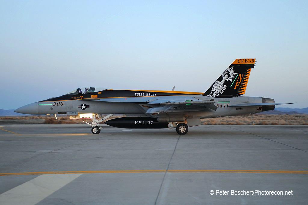 90 FA-18E_168363_VFA-27_NF200_NAS  Fallon