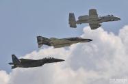 USAF Heritage Flight A10,F4,F15