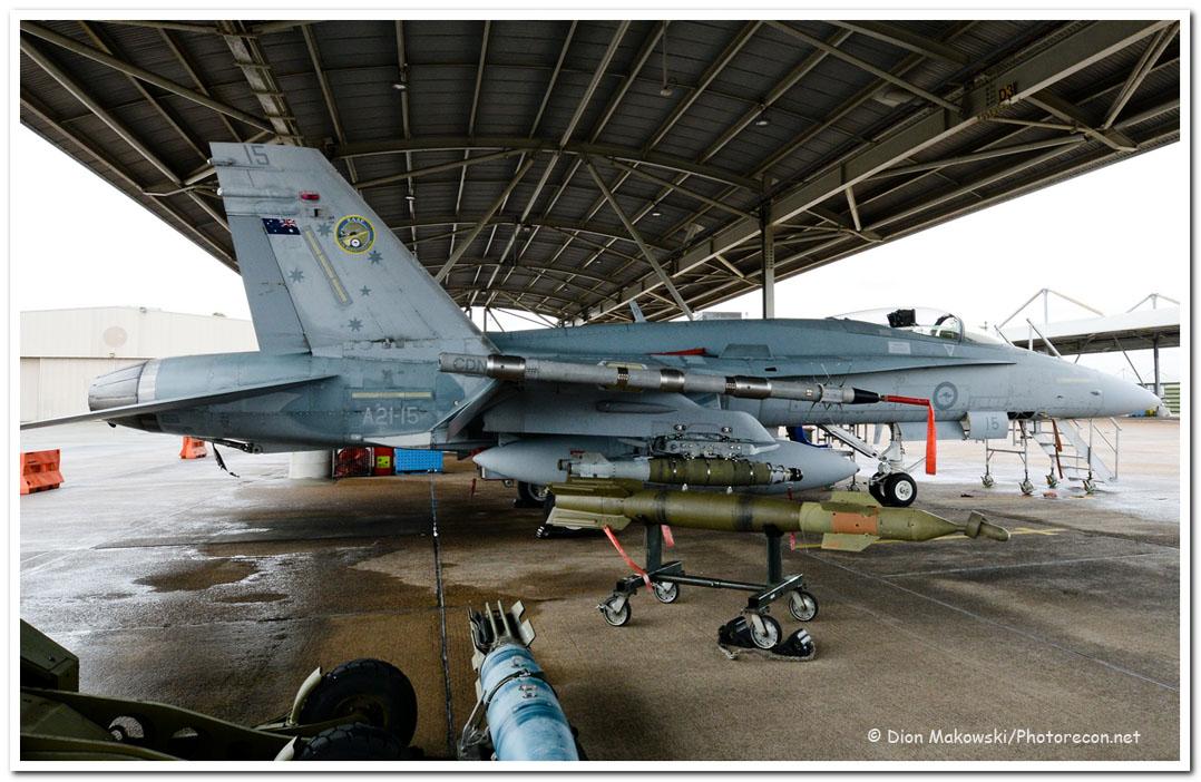 3 Squadron Hornet HUG
