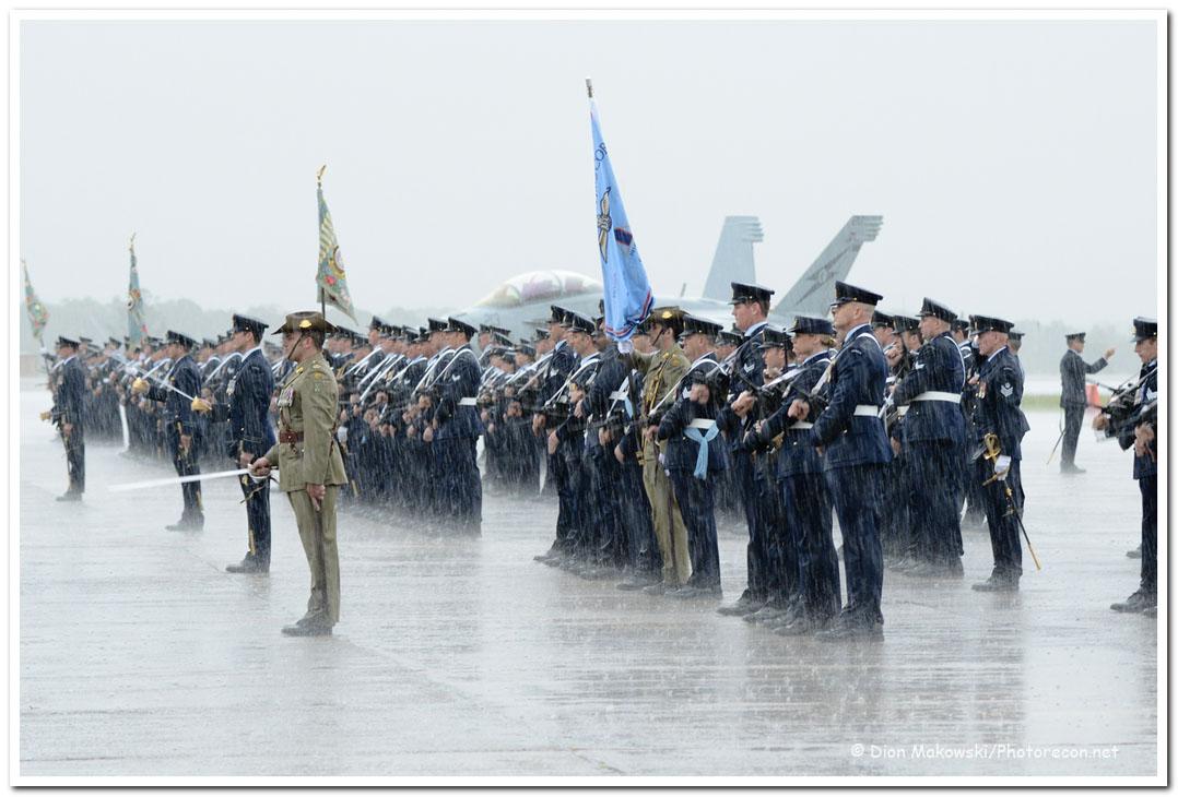 Royal Salute - in the rain!