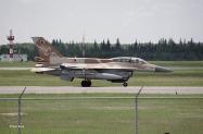 IDF F-16D-40-CF BARAK Squadron colors